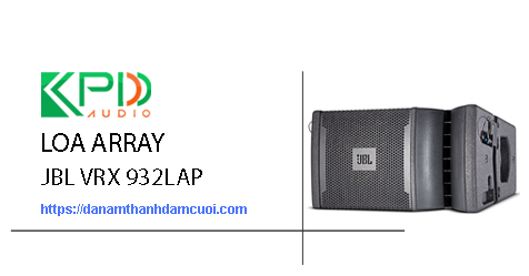 Loa Line Array JBL VRX 932LAP