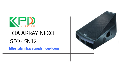 Loa Array Nexo Geo 45N12