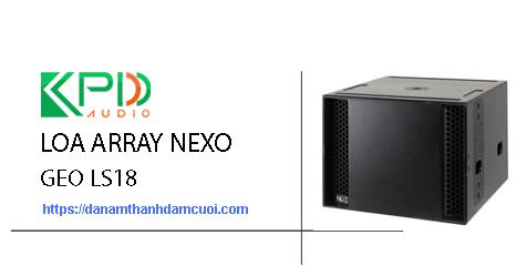 Loa Array Nexo Geo LS18