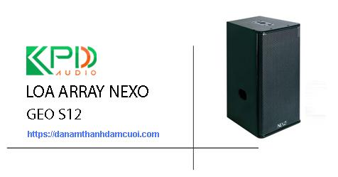 Loa Array Nexo Geo S12