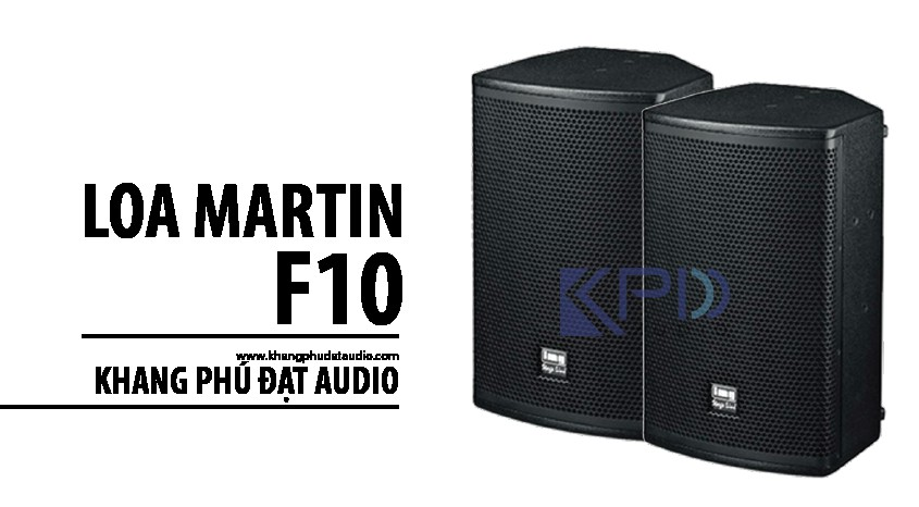 Loa Martin F10 Trung Quốc