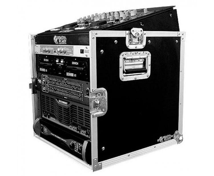#2. Tủ rack 12U, tủ đựng thiết bị có ngăn chứa bàn mixer