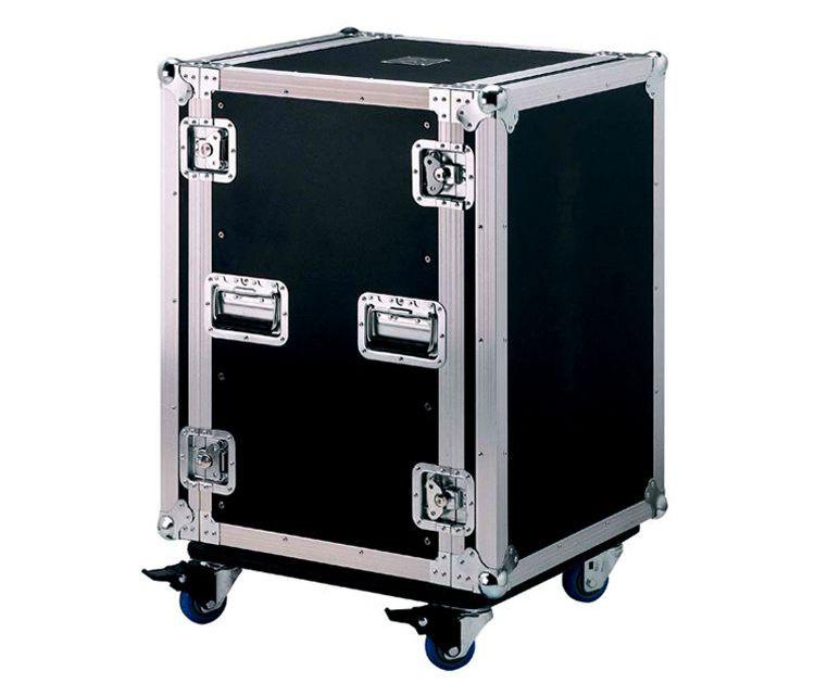 #3. Tủ rack 16U, tủ đựng thiết bị có ngăn chứa bàn mixer