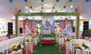 Lắp dàn âm thanh đám cưới cho A Hải tại Hải Dương