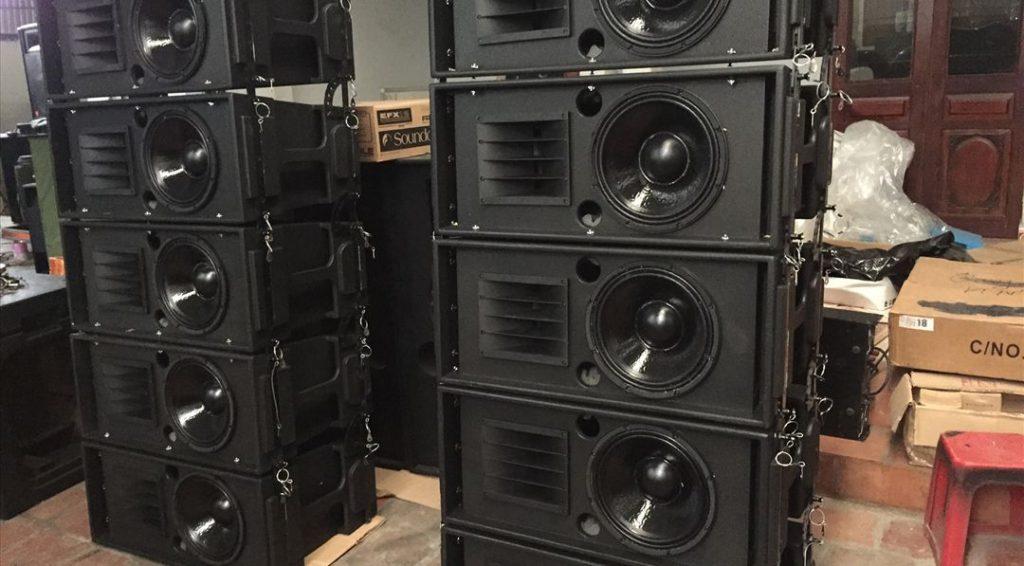 Nhận đóng thùng loa Array bass 30, 40 số lượng lớn