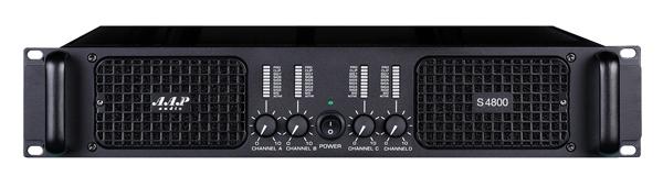 Main công suất 4 kênh AAP S-4800, thiết kế sang trọng