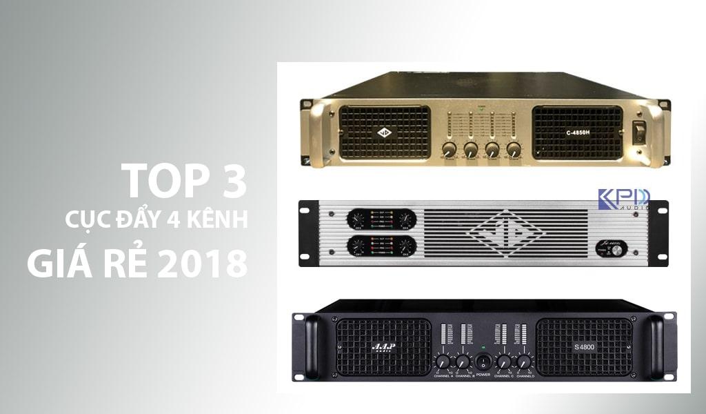 Điểm danh 3 cục đẩy 4 kênh giá rẻ tốt nhất hiện nay 2018 | Sale 10%