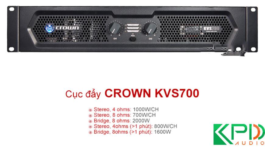 Cục đẩy Crown KVS700