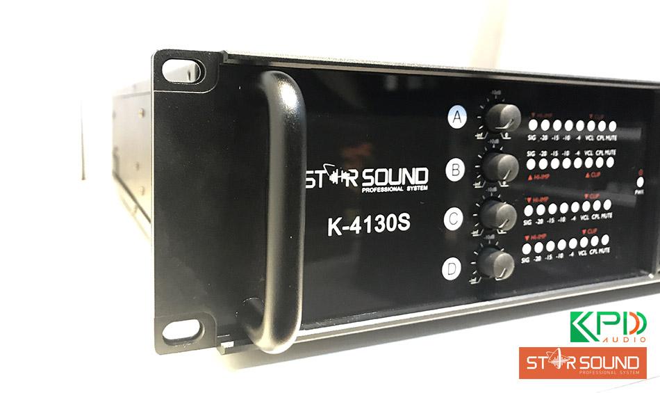 4 kênh điều chỉnh với đèn báo tín hiệu riêng biệt