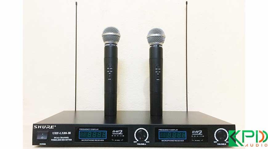 Shure LX 88 III Micro không dây giá rẻ tại Hà Nội