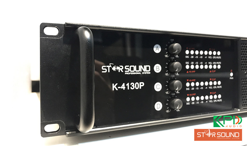 Cục đẩy công suất lớn Star Sound K-4130P