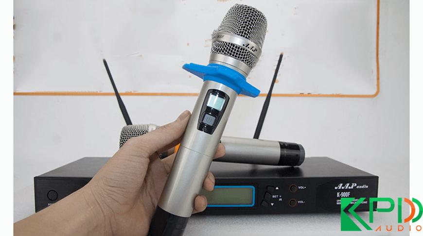 Micro dành cho ca sĩ chuyên nghiệp AAP K900F