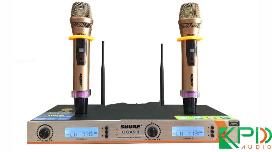 Micro karaoke không dây Shure UGX9II