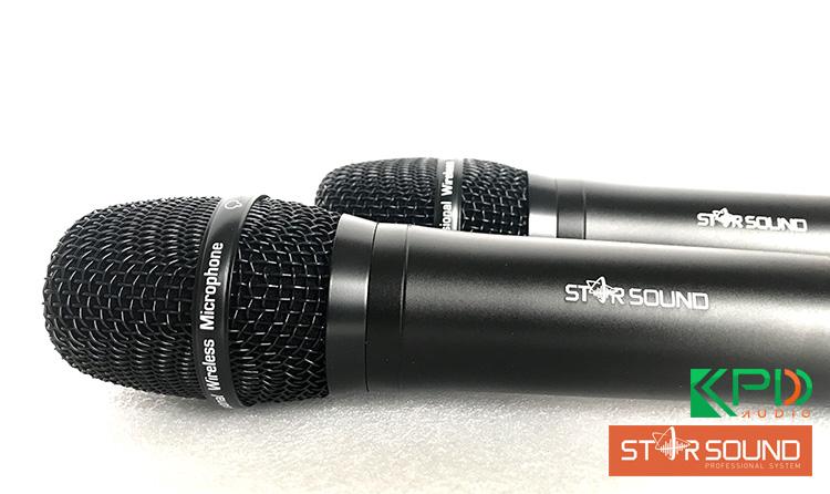 Micro karaoke không dâyStar Sound U-9020