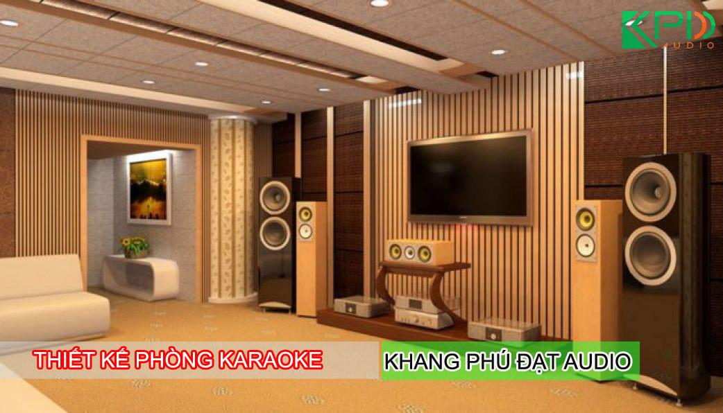 Thiết kế phòng hát karaoke